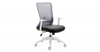 Winger Office Chair Grey/Black