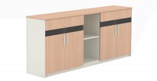 M Cabinet Oak/White
