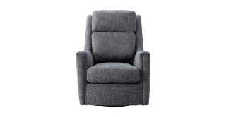 Perry Swivel Arm Chair Grey