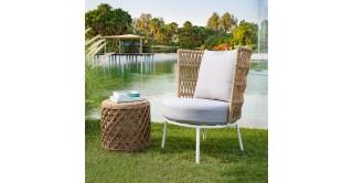 Scottsdale Arm Chair Brown