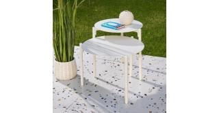 Ella Side Table White Small