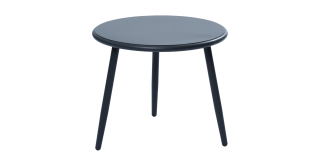 Taboret Side Table Grey