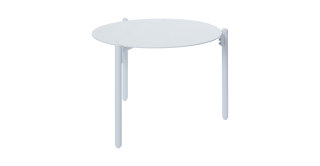 Mobo Side Table White Small