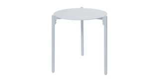 Mobo Side Table White Large