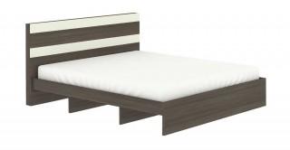 Logan Bed 180 x 200 Walnut
