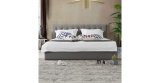 Tufted Headboard + Bed Base 180 x 200