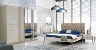 Duru Bedroom Set With Sliding Wardrobe