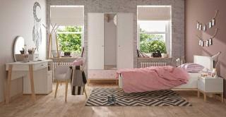 Alika Kids Bedroom Set, 5 Pieces