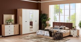 Anica Bedroom Set With Wardrobe