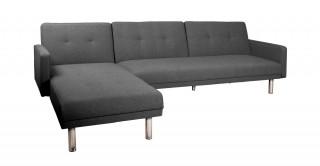 Clayton Grey Corner Sofa