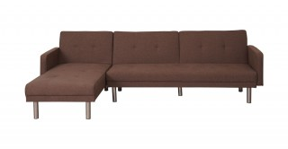 Clayton Brown Corner Sofa