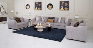 Vancouver Sofa Set Without Pouf
