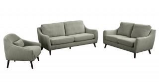 Sila Light Brown Sofa Set