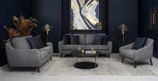 Sila Grey Sofa Set