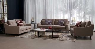 Pearl  Sofa Set Taupe