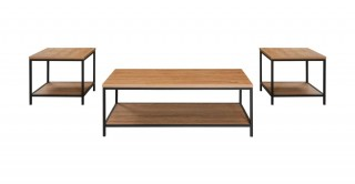 Charie 1 Coffee Table + 2 End Tables Set