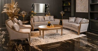 Budapest Sofa Set With Table