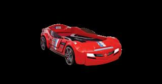 Biturbo Carbed Red + Mattress (90X195Cm)