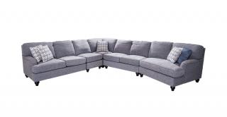 Evora Corner Sofa Grey