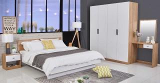 Tokyo Bedroom Set, 5 Pieces
