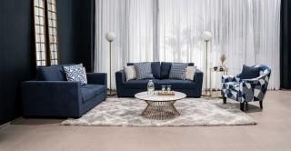 Wanoma Sofa Set Blue