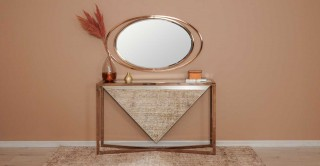 Laverin/Kaira Console With Mirror