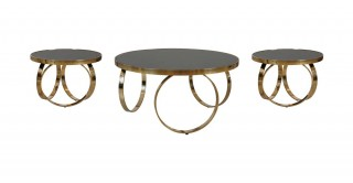Vienna Coffee Table & 2 End Tables
