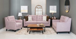 Bianca Sofa Set - Lilac
