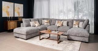 Daytona Corner Sofa Grey