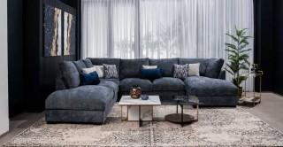 Daytona Corner Sofa Dark Grey