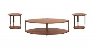 Toscana Coffee & 2 End Table Set