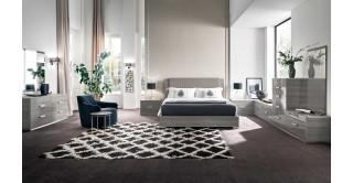 Iris Bedroom Set, 4 Pieces