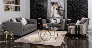 Bristol Sofa Set Grey