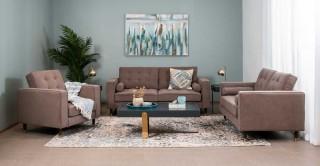 Vermont Sofa Set Taupe