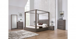 Stord Bedroom Set Charcoal