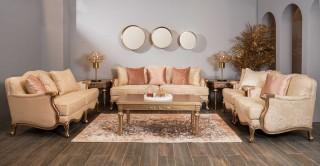 Hamelton 7 Pcs Sofa Set Beige