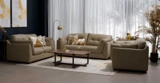 Wisdom Sofa Set Taupe
