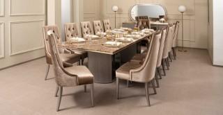 Jewel Dining Set Grey