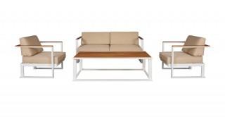 Noa Sofa Set 4Pcs + Coffee table