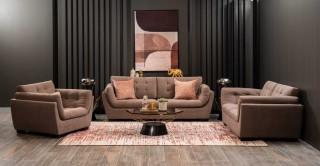 Wexford Sofa Set Brown