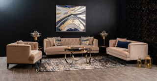 Palma Sofa Set Beige