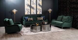 Toledo Sofa Set Green