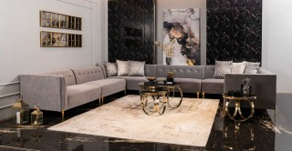 Amoria Diwaniya Corner Sofa