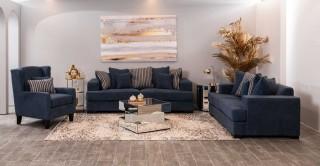 Amsterdam Sofa Set Blue