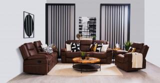 Miguelle 3+2+1 Sofa Set Recliner