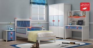 Hero Kids Bedroom Sets 4PCs