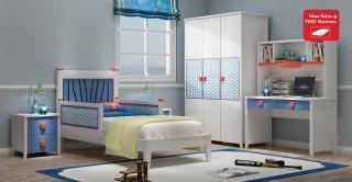 Hero Kids Bedroom Set With Mattress