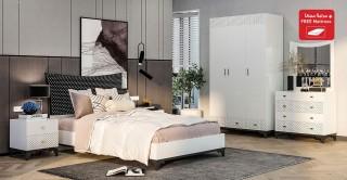 Heaven Kids Bedroom Set With Mattress