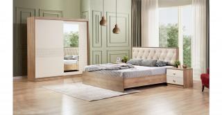 Galaxy Bedroom Set Beige