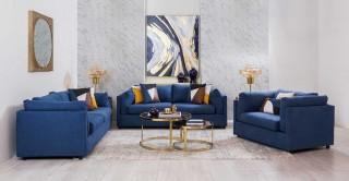 Verona Sofa Set Blue